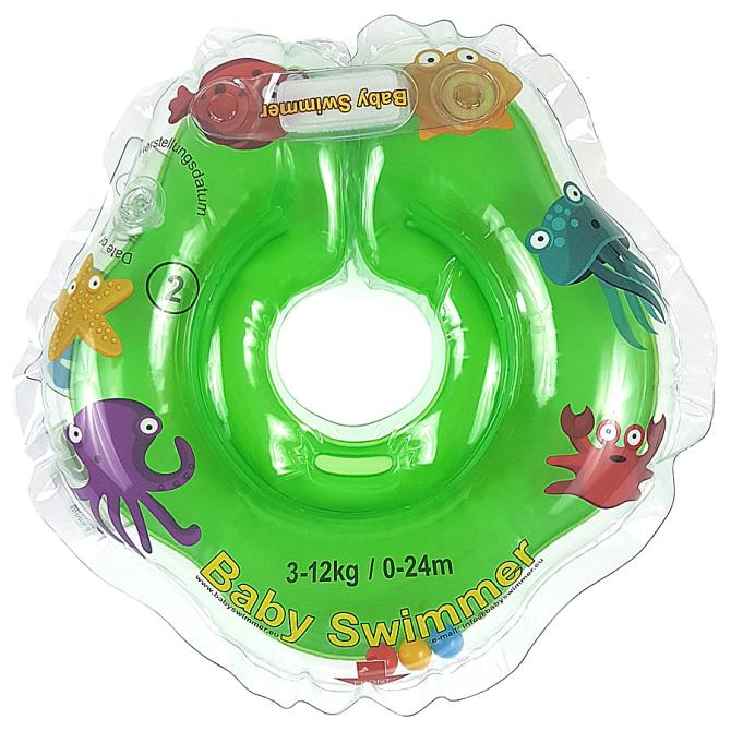 babyswimmer-zielony-kołnierz-koło-do-pływania-dla-niemowląt-BS01O-B-G-1