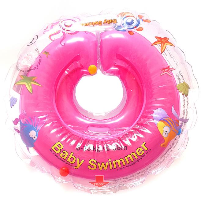 p-babyswimmer-różowy-kołnierz-koło-do-kąpieli-dla-niemowląt-BS11O-B-P-1