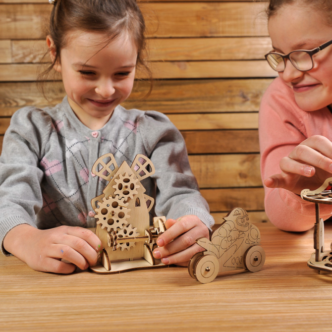 Ugears 4Kids coloring Mill 13