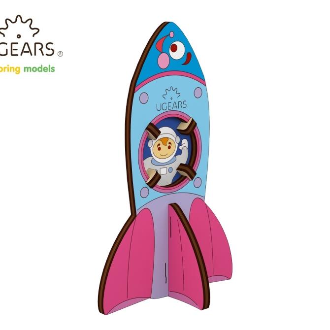 Ugears Coloring Model Rocket - копия