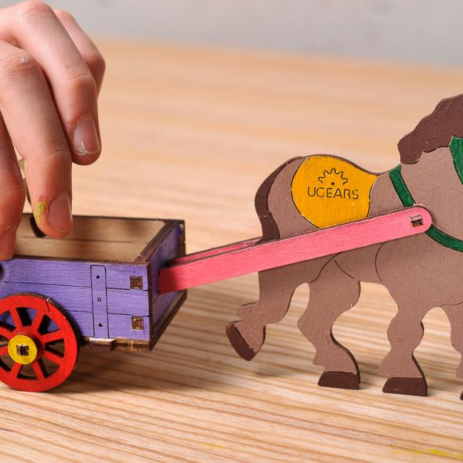 gears 4Kids coloring Donkey 2