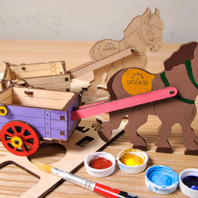 gears 4Kids coloring Donkey 4
