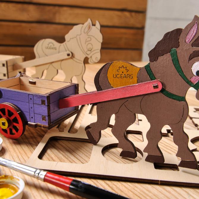 gears 4Kids coloring Donkey 6