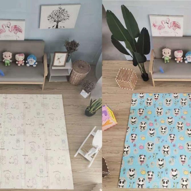 XPE folding mat design